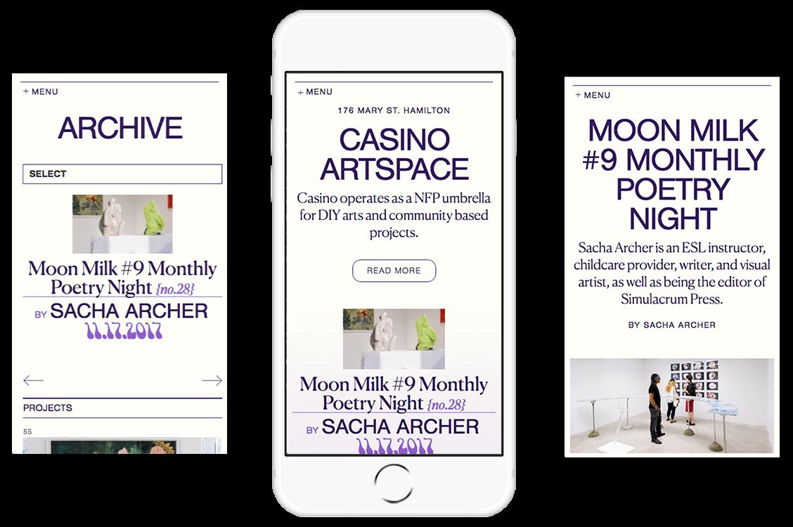 Casino Artspace Hamilton Art Gallery